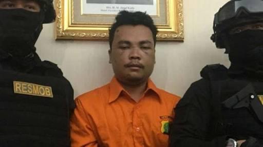 Ditangkap Usai Bunuh Keluarga Daperum Nainggolan, Haris Simamora Ditahan Satu Rutan dengan Ratna Sarumpaet