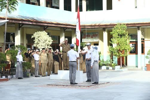 Wabup Said Hasyim Jadi Irup di SMAN I Tebing Tinggi