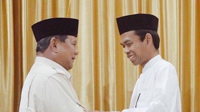 Gegara Dukung Prabowo, Ustadz Abdul Somad Ngaku Rugi Besar, 'Dibully, Dibenci, Ditolak BUMN, Batal Umrah'