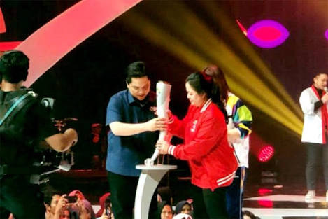 1-2 Agustus, Obor Asian Games akan Singgah di Riau