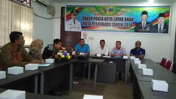 Dianggarkan  Rp72 Miliar,  Pekanbaru  Siap Menuju  Kota Layak Anak Madya 2018
