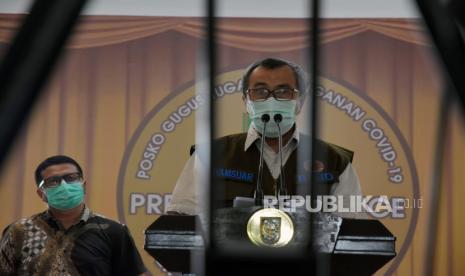 Positif Covid-19, Gubernur Riau Syamsuar dan Istri, Mismarni  Jalani Isolasi di Rumah Sakit