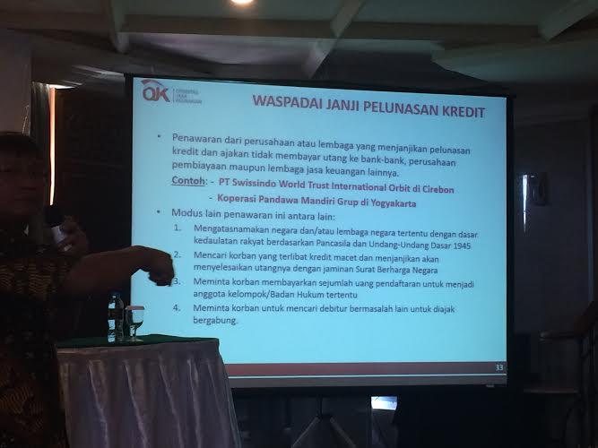 Dengan Layanan Trackable dan Traceable, OJK Riau Siap Bantu Masyarakat