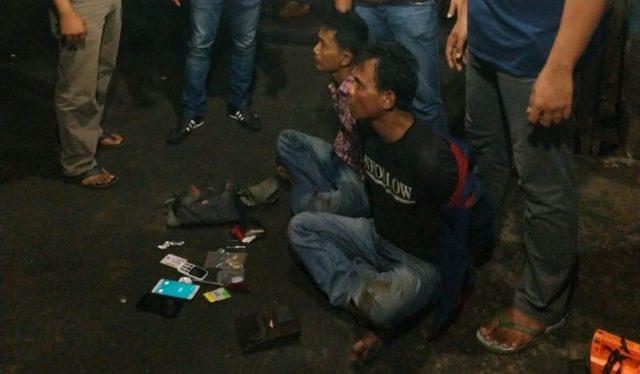 Warga Pekanbaru Diamankan Polisi Usai Bobol Dua Rumah di Kotogasib Siak
