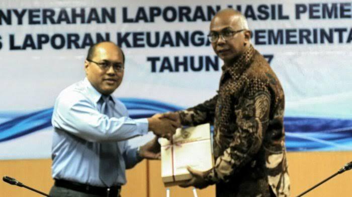 Pemkab Inhil Kembali Raih Opini WTP dari BPK Riau