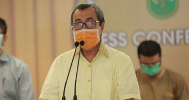 Gubernur Riau Resmikan Program 7 Desa Berlistrik di Kampar, Inhil dan Meranti