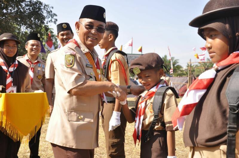 Peringati Hari Pramuka ke-57, Bupati HM Harris: Indonesia Siap dalam Menghadapi Persaingan Global