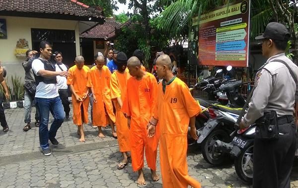 Masih Muda, Ini Penampakan 7 Anggota Geng Motor 'Pencabut Nyawa' Darius yang Ditikam Pakai Kelewang