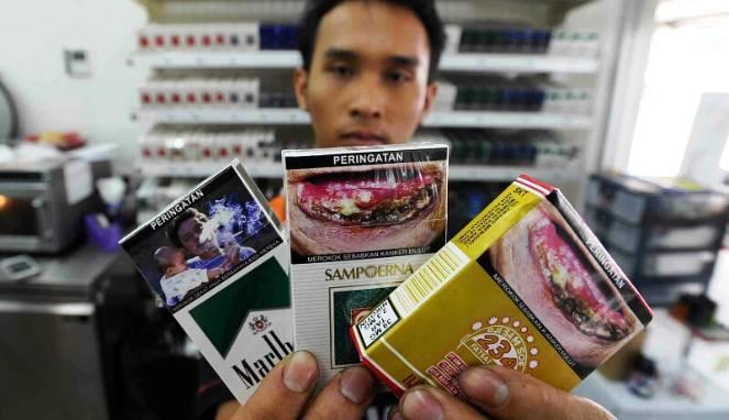 Kabut Asap, Penjualan Rokok Berkurang