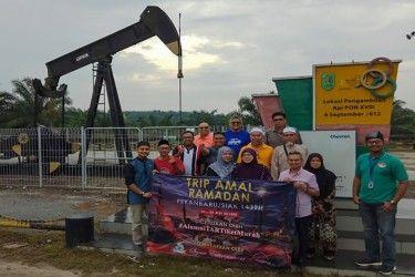 Tak Takut Teror, Belasan Pelancong Asal Malaysia Tetap Kunjungi Sejumlah Objek Wisata di Riau