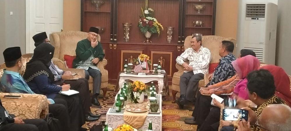 Raja Muda Perlis Ingin Tingkatkan Kerjasama dengan Pemprov Riau dalam Segala Bidang