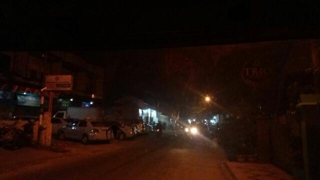 Ada Driver Go-Jek 'Ditahan' di  Markas Puskopau Jalan Pepaya Malam Tadi..