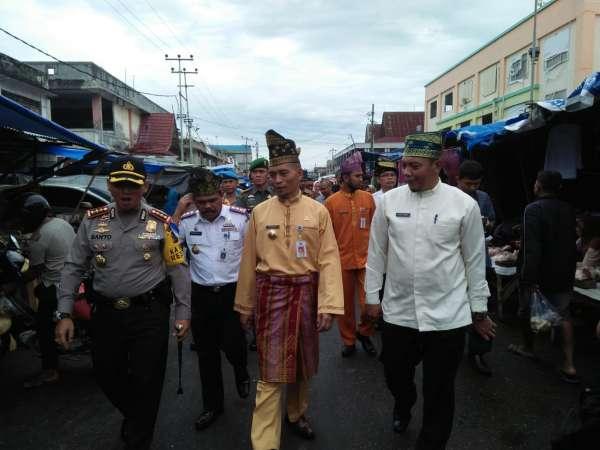 Plt Wako Tinjau Persiapan Lebaran di Pekanbaru