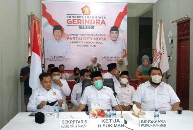 TIDAR Rokan Hulu Dukung Prabowo Pimpin Kembali Partai Gerindra