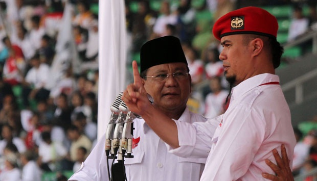 Tuding Ada Kezaliman, Prabowo: Saya Tak Paham Salah Ahmad Dhani, Semoga Hakim Tidur Nyenyak...