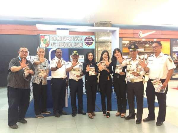 Dishub Buka Posko Pelayanan di Mall SKA Pekanbaru