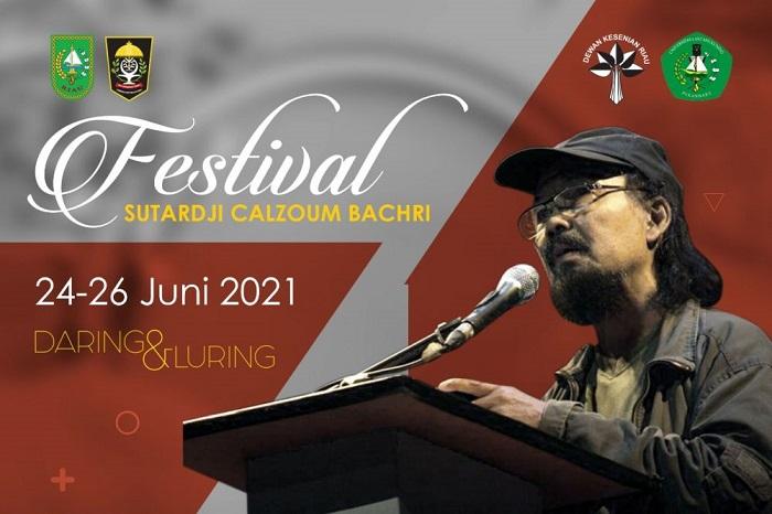Malam Ini, Gubri Buka Festival Sutardji Calzoum Backri