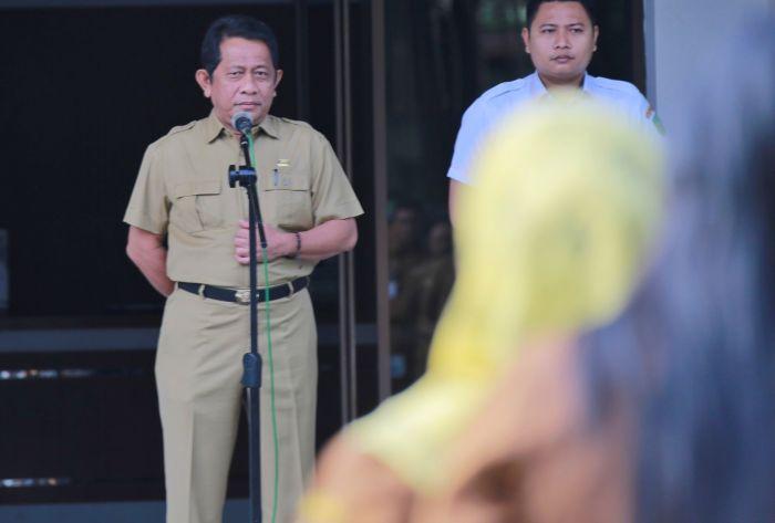 Sekdaprov Yan Prana Ingatkan ASN Pemprov Riau, 'Bekerja yang Baik, Jangan Sibuk Urusi Mutasi'