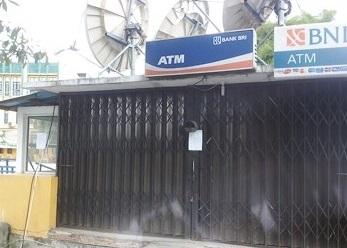 Satpam Yayasan Al-Ulum Ditembak, Mesin ATM BNI Nyaris Digasak