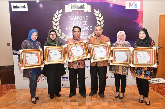 Bank Riau Kepri Raih Banking Service Excellence Awards 2019