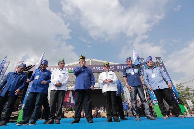 PATEN...Hasil Survei Lamda Indonesia, Firdaus-Rusli Tertinggi