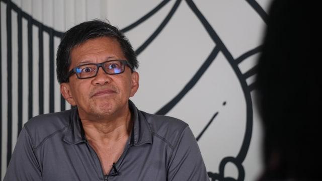 Sebut Prabowo Sampah Negeri, Rocky Gerung: Itu Satire, Itu Cara Saya