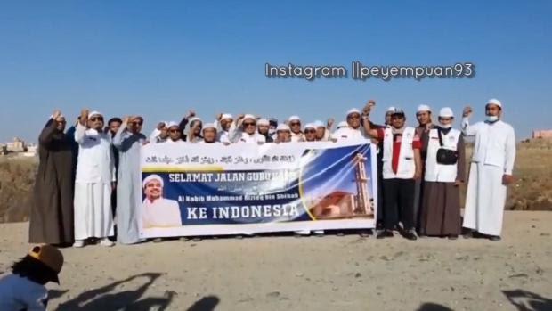 Beredar Video Selamat Jalan, Habib Rizieq Disebut-sebut Bakal Pulang ke Indonesia Saat Maulid Nabi