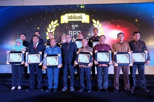 Pemkab Inhil Terima Penghargaan 'Sangat Bagus' Atas Kinerja Keuangan PD BPR Gemilang