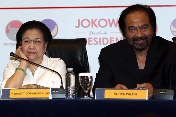 Soal Renggangnya Hubungaan Megawati dan Surya Paloh, PDIP: Tak Ada Kawan Abadi...