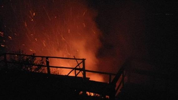 Tengah Malam Terbakar, Pagi Api Berkobar Lagi, Begini Kondisi Puncak Ulu Kasok Sekarang...