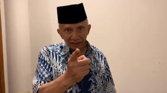 Orang Cuma Ngomong Ditangkap, Amien Rais Balas Mengancam: Wiranto, Hati-hati Anda!