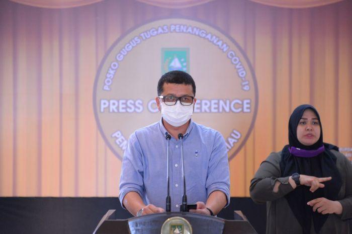 Hari Ini, Riau Tambah Tiga Kasus Positif Covid-19, Pasien Warga Kampar, Siak dan Sumsel