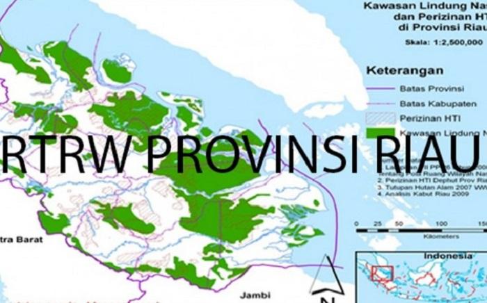 Alhamdulillah, Provinsi Riau Akhirnya Punya RTRW, Rabu Depan Diserahkan ke DPRD