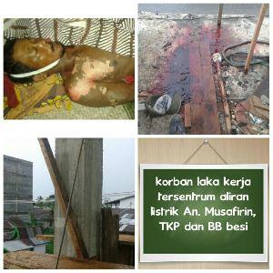 TRAGIS...Tersentrum, Musa Jatuh Dari Gedung Berlantai 2 dan Tewas