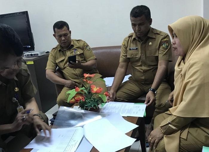 Asisten Administrasi Umum Pemkab Kampar Lakukan Serah Terima Jabatan