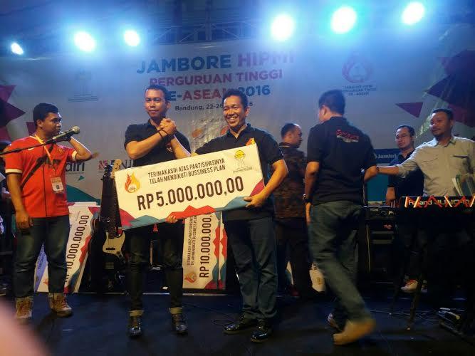 HEBAT...Ikuti Jambore Se-Asean di Bandung, BPD Hipmi PT Riau Jadi Kontingen Terbaik