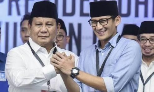 02 Kalah karena Pilih Sandiaga, Andi Arief: Kini Terbukti, Pak Prabowo Keras Kepala dan Meninggalkan Demokrat