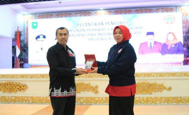 Gubri Hadiri Pelantikan Pengurus HIPGABI Riau 2019-2024