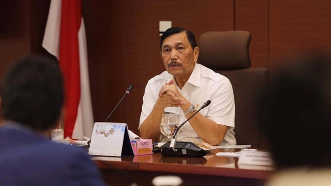 Pasar-pasar Ramai Jelang lebaran, Luhut: Jujur, Saya Tidak Happy, Kasihan Rakyat...
