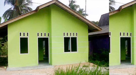 Tahun Ini, Pemprov Riau Rampungkan Pembangunan 1.842 Rumah Layak Huni