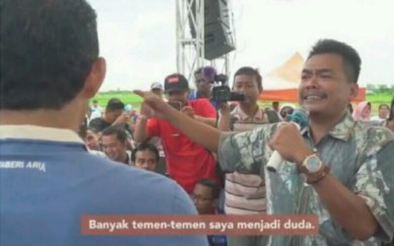 Alahmak, Sambil Nangis Curhat ke Sandiaga Uno, Gara-gara Harga Bawang Rendah Banyak Pria Jadi Duda