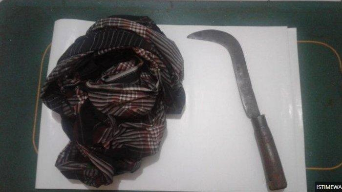 SADIS...Gara-gara Minta Dikerok Istri Tetangga, Supriyanto Kritis karena Dibacok Sabit