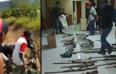Anggota TNI Dikeroyok, Bos SMB dan 45 Anak Buahnya Diciduk, Ini Videonya