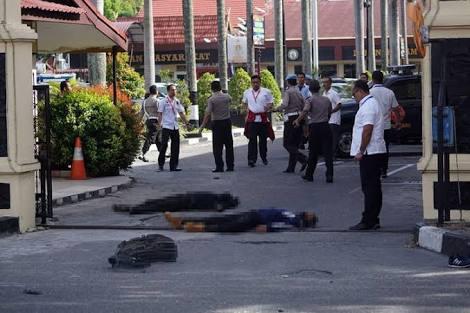 TERKUAK...Gagal Serang Mako Brimob, Terduga Teroris Malah Serang Polda Riau