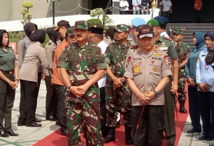 Kunker ke Riau, Kapolri Ingatkan Bahaya Invasi Melalui Serangan Cyber