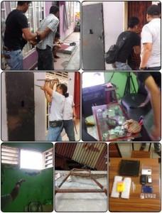 Wow...Sistematis, Ternyata Ada Rumah Miliki Bunker dan CCTV Diduga untuk Pelarian di Kampung Dalam