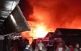 Kebakaran Hebat di Tembilahan, 6 Orang Dilaporkan Meninggal Dunia