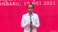 Sekarang Sudah Positif, Jokowi Yakin Ekonomi Riau Kuartal II Bisa Lompat 7 Persen  Karena Sawit, Karet dan Kertas...
