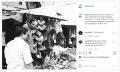 Unggah Foto  Berdua di Pasar, Prabowo Sampaikan  Kalimat ini pada Jokowi di Instagram...