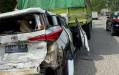 Lakalantas, Toyota Fortuner  Mahyudin Remuk, Kondisi Penumpangnya...